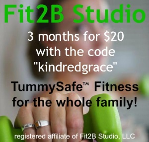 Fit2B Studio: TummySafe Fitness for the Whole Family!
