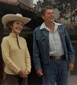 President and Mrs. Reagan 1981, from http://www.reagan.utexas.edu/photos/100.htm