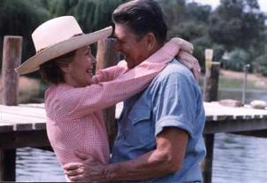 President and Mrs. Reagan 1983, from http://www.reagan.utexas.edu/photos/100.htm