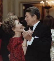 President and Mrs. Reagan 1985, from http://www.reagan.utexas.edu/photos/100.htm