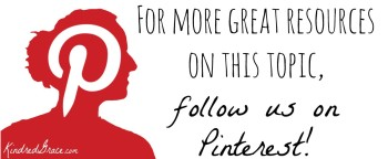 For more, follow @KindredGrace on Pinterest!