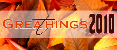 Great Things to Be Thankful For