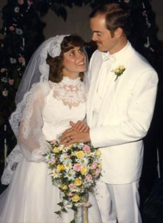 Mr. and Mrs. Wayne Smith, August 2, 1986, Photo by Ralph Ehorn