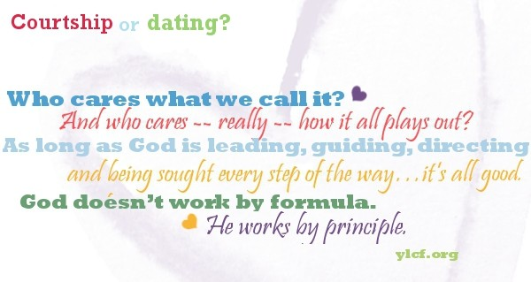 The Difference Between Courtship & Dating
