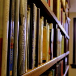 a missionary in a library