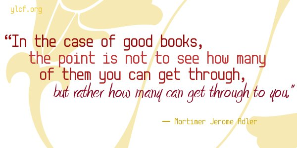 in the case of good books... [graphic by Chantel Brankshire]