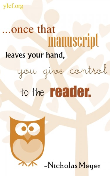 control to the reader... (graphic by Chantel Brankshire)