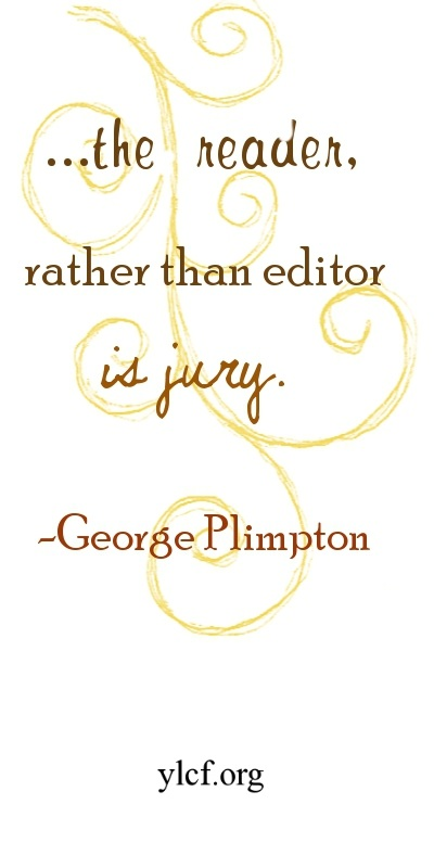 ...the reader, rather than editor, is jury.  (graphic by Chantel Brankshire)