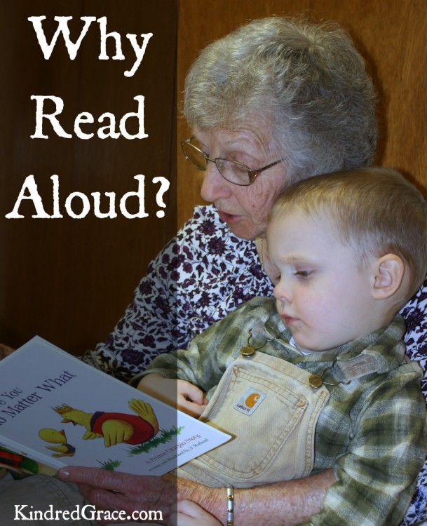 why you should read aloud to children of all ages