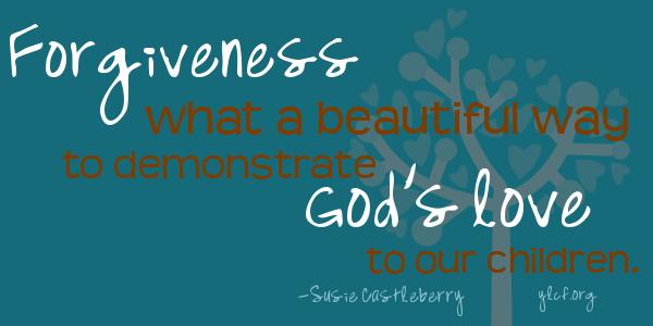 God's love...