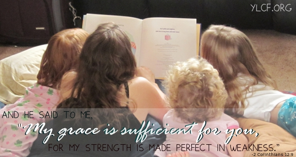 of being made perfect in weakness