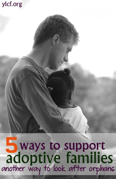 5 ways to support adoptive families (graphic by Chante Brankshire)