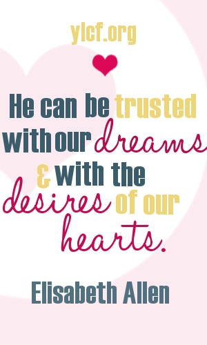 He can be trusted with our dreams... (graphic by Chantel Brankshire)