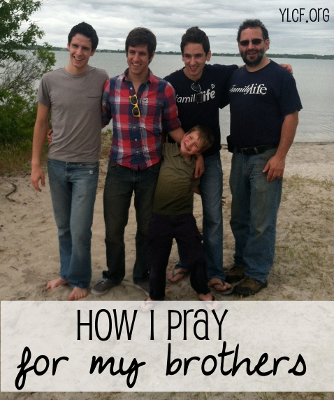 """how I pray for my brothers"" @NotUnredeemed on @YLCF"