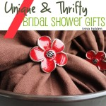 7 Unique and Thrifty Bridal Shower Gifts