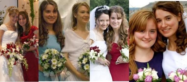thrice a bridesmaid & then a bride