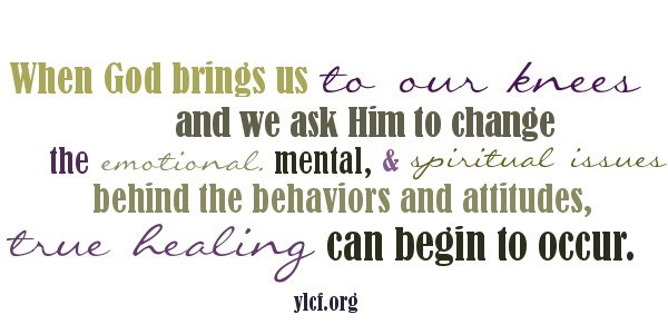 When God brings us to our knees...true healing can begin to occur. http://ylcf.org/?p=17854 via @YLCF