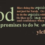 believing God for the impossible (like Sarah)