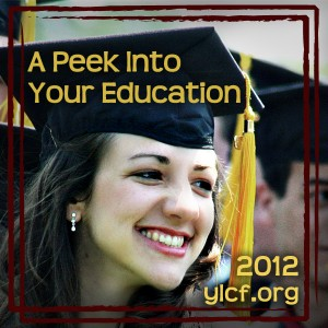 A Peek Into Your Education at @YLCF