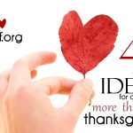 4 ideas for adding more Thankful to Thanksgiving