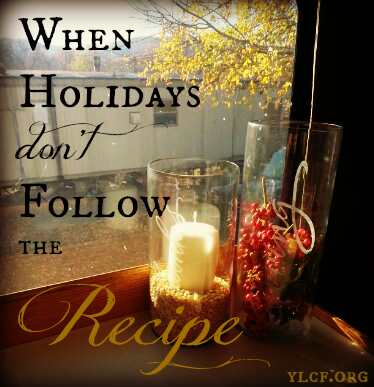 When Holidays Don't Follow the Recipe