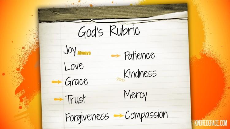 God's Rubric