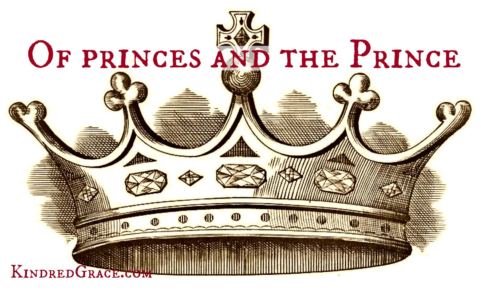Of princes and the Prince