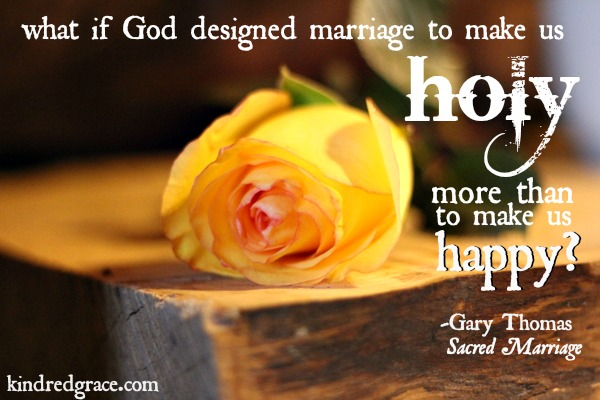 Sacred Marriage Review @KindredGrace