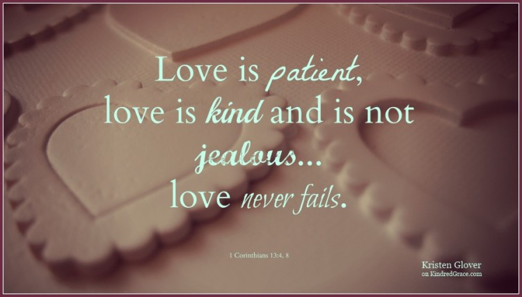 Love is Like That by @fiveintowblog on @KindredGrace