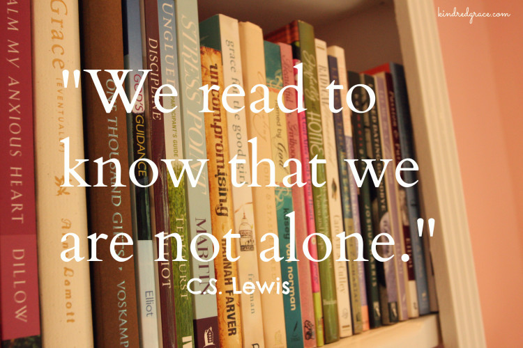 We read to know... via @everlypleasant at @KindredGrace