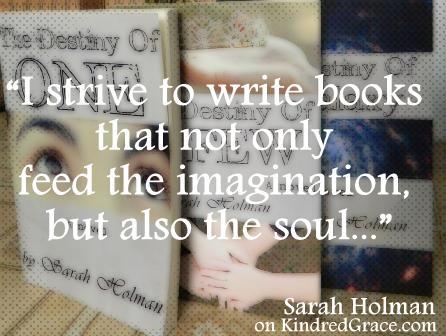 I strive to write books...