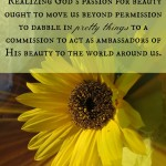 Called to Be Ambassadors of Beauty
