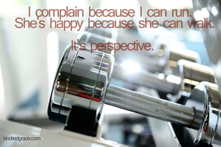 Treadmill Perspective
