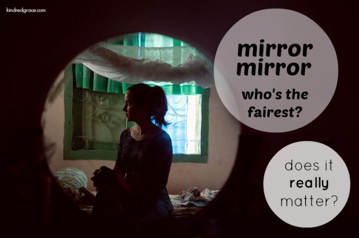 mirror, mirror, who's the fairest? does it really matter?