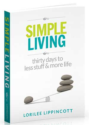 Simple Living (a #giveaway at @KindredGrace!)