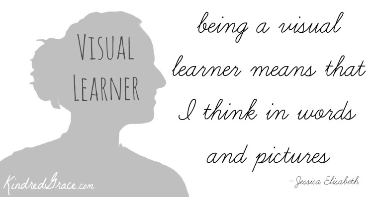what it means to be a visual learner