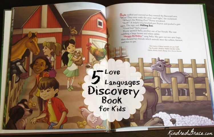 5 Love Languages Discovery Book for Kids