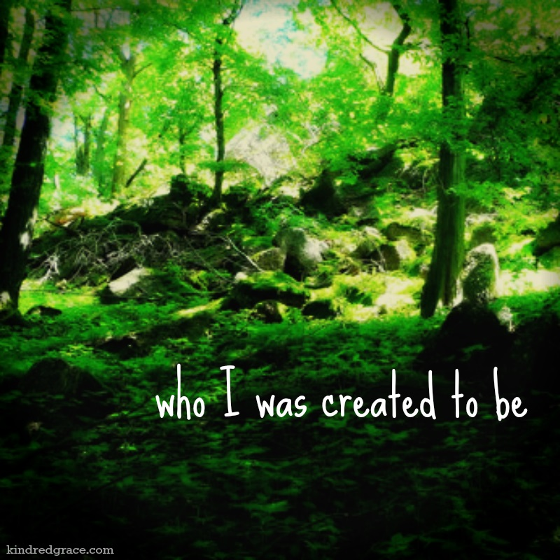 who I was created to be