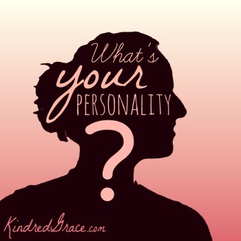 Now it's your turn! Tell us: What's your personality?