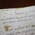 of Cranberry Fluff and changing traditions