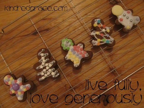 live fully, love generously