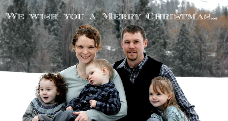 Merry Christmas from Gretchen's family!