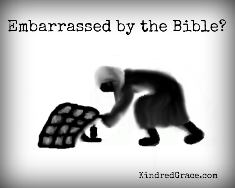 Embarrassed by the Bible?