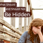What Should and Should Not be Hidden