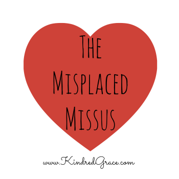The Misplaced Missus by @RachelleRea on @KindredGrace