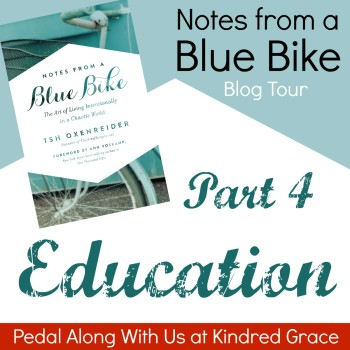 #NotesFromABlueBike: Education at @KindredGrace