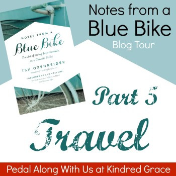 #NotesFromABlueBike Blog Tour: Travel with @EmilyCGardner