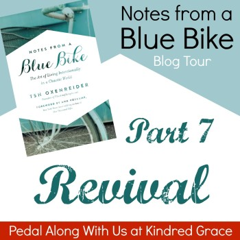 #NotesFromABlueBike #Giveaway at @KindredGrace