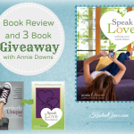 Speak Love (review and 3 book giveaway!)