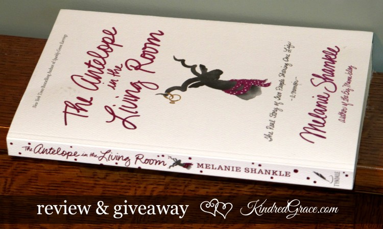 The Antelope in the Living Room review & #giveaway #MarchOfBooks